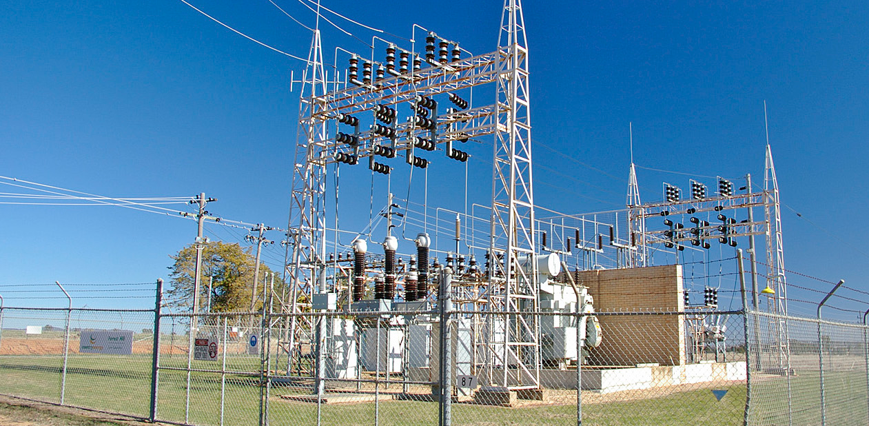 powerline substation
